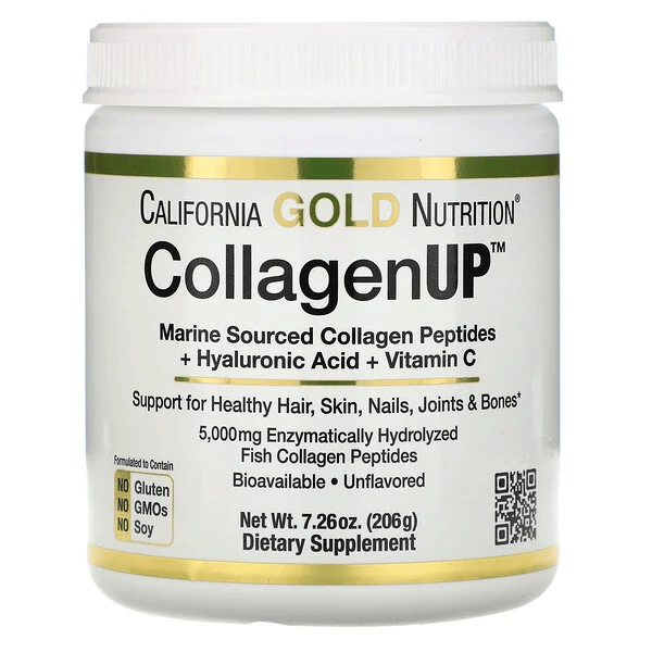 California Gold Nutrition CollagenUp海洋水解膠原蛋白 + 透明質酸 + 維生素 C-1
