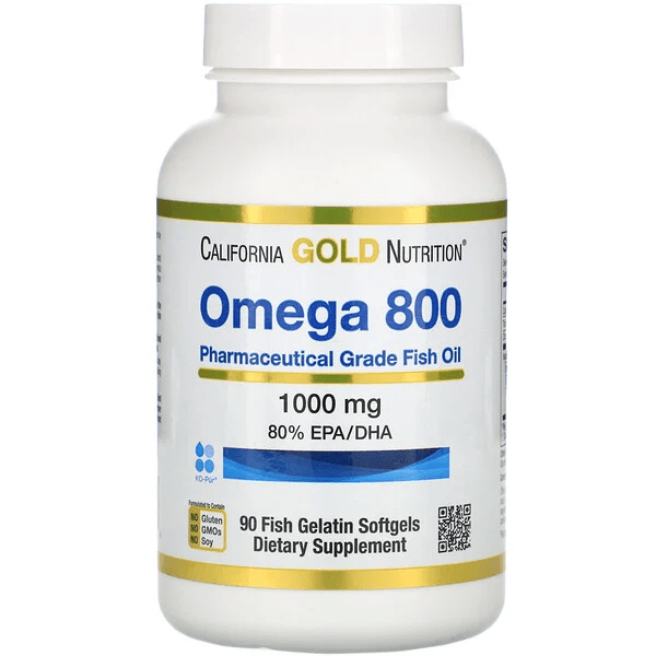 California Gold Nutrition Madre Labs 歐米伽 800-1