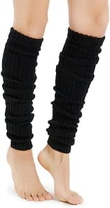 Kayhoma Extra Soft Over the Knee High Leg Warmers