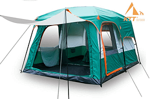KTT Large Tent 8_10 Person,Family Cabin Tents for Camping #1