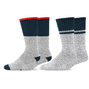 Soxnet Eco-Friendly Heavy-Weight Recycled Cotton Thermal Boot Socks