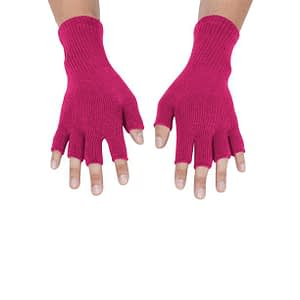 gravity threads unisex fingerless gloves