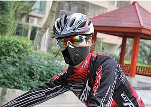 half cycling cover face mask neoprene