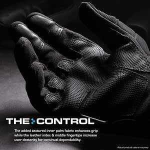 Glove Station The Combat Fingerless Rubber Knuckle Gloves for Men