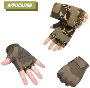 hycoprot tactical fingerless gloves
