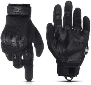 Glove Station - The Combat Fingerless Rubber Knuckle Gloves for Men
