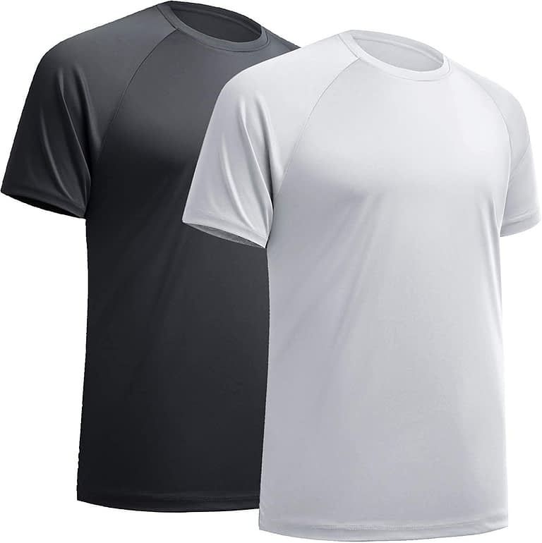 BALENNZ Workout Shirts for Women, Moisture Wicking Quick Dry Active Athletic Women's Gym Performance T Shirts