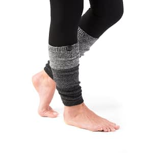 Winter Knee High Knit Leg Warmer Socks Enclosed in an Elegant Gift Box
