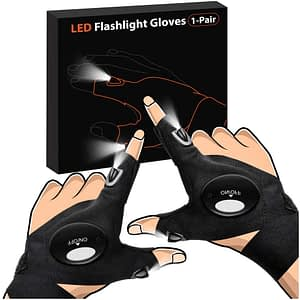 parigo fed flashlight gloves
