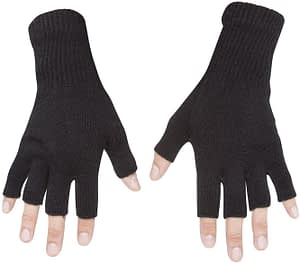 gravity threads fingerless gloves