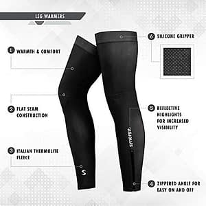 Synergy Cycling Leg Warmers for women