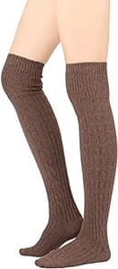 Over The Knee High Knit Boot Socks
