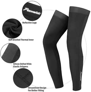 calf compression bike leg warmer
