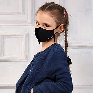 Kenneth Cole Kids Face neoprense Mask Heiq V-block and Smart Temp Protection for Children 5 to 11 Years Old