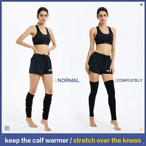 Extra Soft Over the Knee High Leg Warmers